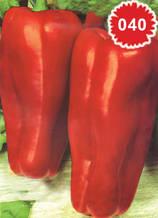 Пипер триръба червена капия