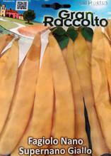 Градински фасул жълт нисък - Супернано